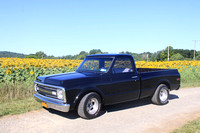 C10 Truck in sunflowers 2016